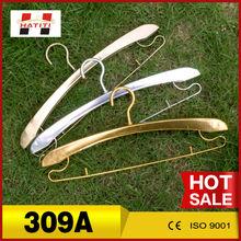 Cheap wholesale durable Aluminum gold silver metal kitchen hook hangers