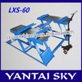 Lxs-60 de china proveedor elevador de coches de puente 220 v / usado hidráulico elevador de coches de venta