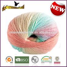 NE 10S-24S 70/30 wool and nylon blended super soft baby knitting yarn