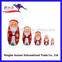Hechos a mano de seguridad de garantía de madera pintado de la muñeca de madera chino de la muñeca