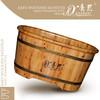 Quality wooden kleine freistehende badewanne