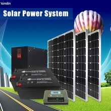 solar panel energy system 300kw solar power plant made in china