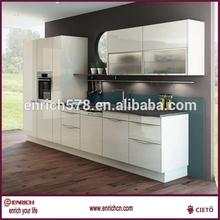 natural ash/maple veneered mdf kitchen cabinet