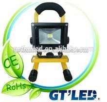 Best waterproof 6500k 10w 20w outdoor led flood light ,rechargeable&dimmable flood light