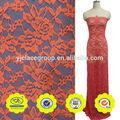 rosa vermelha original vintage tecidojacquard amostras de rendas de vestidos