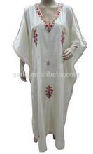 marokkanischen kaftan weiß kaftan kleid