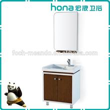 2014 7 times PU & PE painting high quality bathroom cabinets