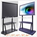 84 polegadas led 3d smart tv da china com preço de fábrica