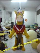 horse animal plush fur horse Mascot Costume-buy horse mascot costume for adult