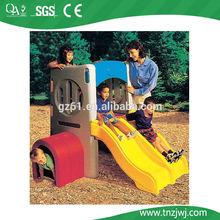 Small type kindergarten plastic double slide child toys