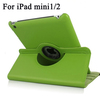 For iPad Mini with Retina, 360 Degree Rotating Top Grade Leather Case
