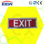 wall mounted emergency exit sign light rechargeable LED explosion proof emergency light