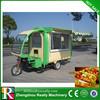 best seller three wheels electric tuk tuk for vending food
