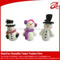 la arcilla del polímero arte de navidad muñeco de nieve traje