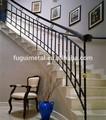 indoor decorativos de ferro forjado corrimão da escada design