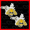 cute bee cufflinks wholesale