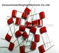 68nf 400v 683j dip película de poliéster metalizado condensador