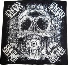 Skull bandana 100% cotton reactive dye competitive price