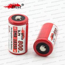 Originale efest 18350 IMR 3.7v 800 mAh ad alto assorbimento batteria al litio ricaricabile per e-cig mod