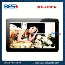 2014 hottest google long battery life 10.1 inch 1024x600 jelly bean tablet pc internal modem