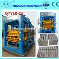Automática cheia máquina de pavimentação bloco de bloqueio que faz a máquina qty 10-15 máquina para fazer blocos de concreto