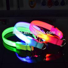 Wholesale Pet Puppy Products Fashion LED Flashing Dog Collar