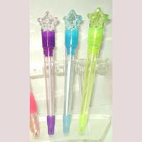 Fancy star light gift ball pen