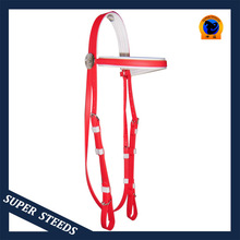 2014 hot selling pvc horse racing bridle Flexible