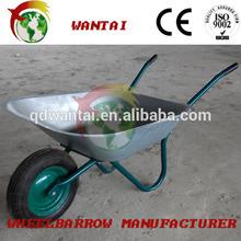 building construction galvanized decorative wheelbarrow/wheel barrow
