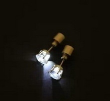 Top quality antique led flashing earrings glow in the dark
