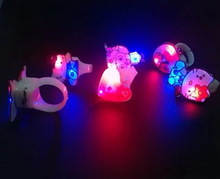 Economic Best-Selling led finger ring for party holiday