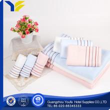 plain dyed hot sale 100% organic cotton microfiber sport towel pocket