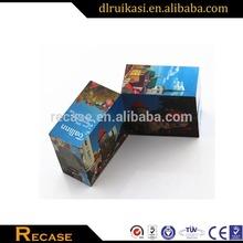 Advertising custom folding magic cube / foldable magic cube puzzle game made in China