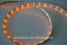 3mm White PCB,1206 SMD,Yellow Flexible LED Strip