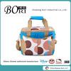 cute 230D nylon printing waterproof cooler lunch tote bags