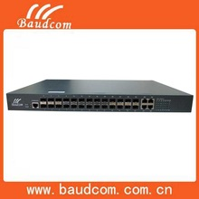 24ports 100M SFP Combo Fiber Ethernet Switch with WEB and SNMP management