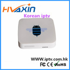 Wholesales Tv pad IPTV Box Korean and Japanese Channels