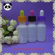 HD-GCT20 PG/VG bottle eliquid 20ml empty milk white eliquid bottle on sale