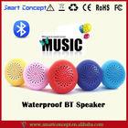 outdoor waterproof Round ball shaped High definition sound built-in bluetooth speaker