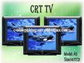 السوق الصينية من الالكترونيات 21 بوصة crt tv مع أسعار أنابيب التلفزيون صور