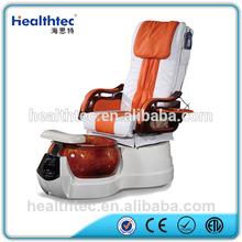 salon chair orange