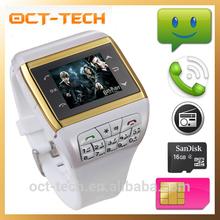Waterproof CDMA watch mobile phone,Best wrist watch cell phone