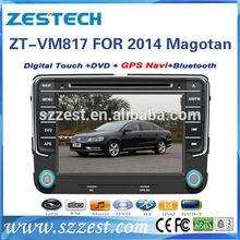"""ZESTECH OEM 8"""" Car DVD GPS For Volkswagen VW Skoda POLO PASSAT CC JETTA TIGUAN TOURAN SHARAN CADDY GOLF Fabia Superb 2014"""