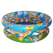 Hot sale baby mini swim pool inflatable round cartoon swim pool