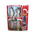 natal diy brinquedo figura do formulário feito de cerâmica e porcelana com cor
