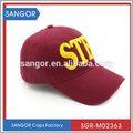 Perfect creativa gorra de béisbol bordados logotipo para jóvenes