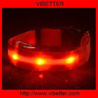 glowing pet dog LED flashing collar Kung Fu Dog brand new pet blink collar lead