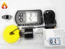 TL58, Sonar fish finder TL58 with Dot Matrix LCD display, Portable Sonar Fish Finder, Ultrasonic Fish Finder