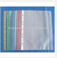 clear sheet protector/waterproof sheet protector/pocket clear sheet protectors