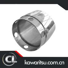 car exhaust/muffler pipe,silencer/Car exhaust system muffler